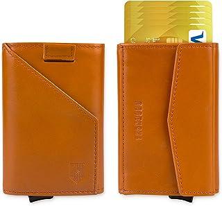 DODENSHA Porte Carte Homme, Portefeuille RFID Homme, Porte Carte Bancaire, Portefeuille Porte-Cartes, Porte Carte Credit A...