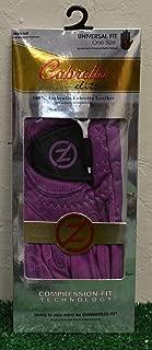 Friction Zero Cabretta Elite Men's LH Golf Glove - One Size - Purple - GL70013