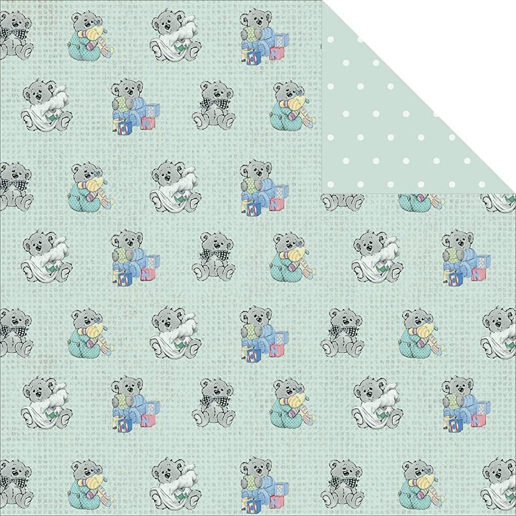 Royal Baby Double-Sided Cardstock 12