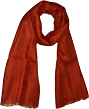 Natural Flax Linen, Solid Color, Light, Airy All Weather Scarf.
