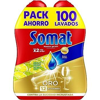 Somat Gel Antigrasa para Lavavajillas - 50 Dosis: Amazon.es: Salud ...