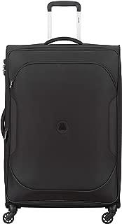 Delsey Paris 00324882100 Children's Softside Luggage, Black, 79 Centimeters