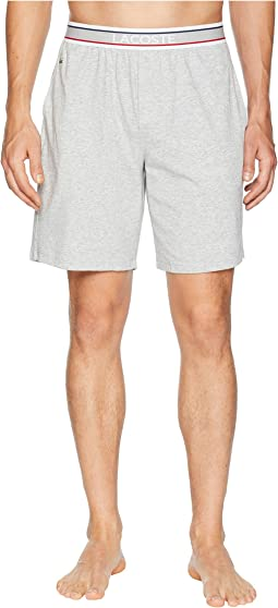 Lacoste Colours French Flag Waistband Lounge Shorts