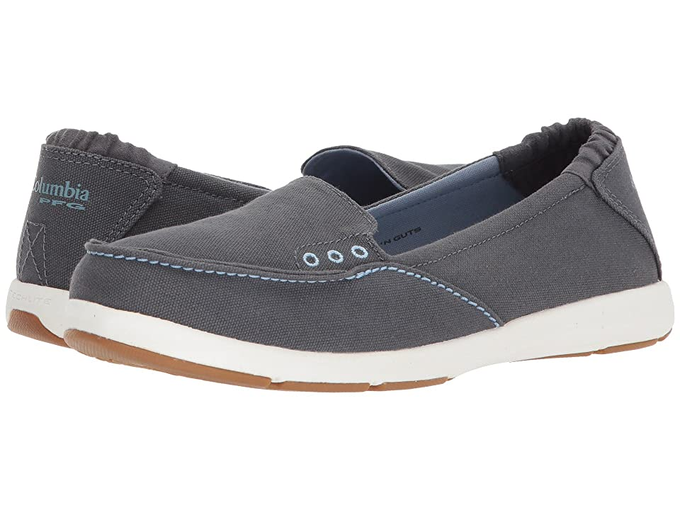 Columbia Delray Slip PFG (Graphite/Dark Mirage) Women