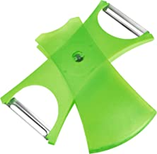 "Kuhn Rikon""Design Line"" 2-In-1 Peeler, Green"