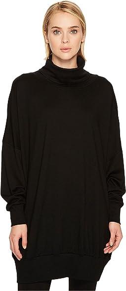 Turtleneck Dolman Sleeve Sweater