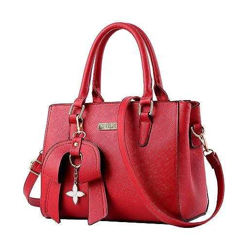 Black and Red Handbag  Amazon.co.uk f62cb2b19a3f3