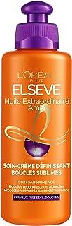 L'Oréal Paris Elseve Huile Extraordinaire Soin-Crème Définissant Cheveux Bouclés 200 ml