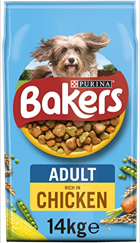 Bakers Adult Dog Food Chicken and Veg, 14 kg product image