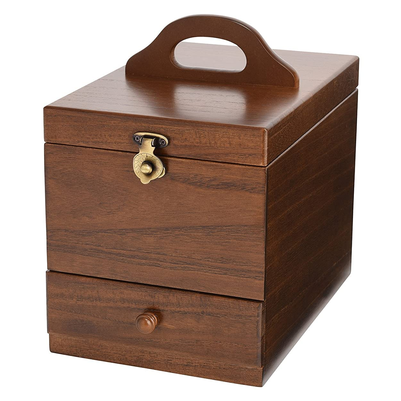 変な追い払う出版コスメボックス 日本製 静岡の熟練の木工職人の手作り 017-513