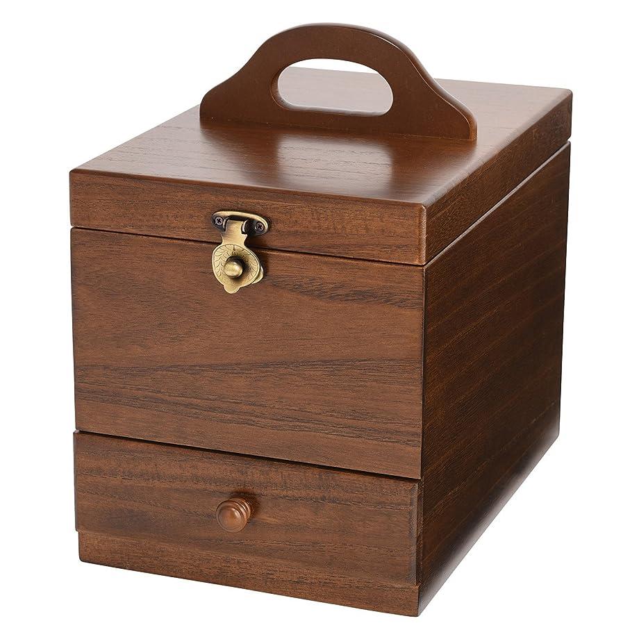 コスメボックス 日本製 静岡の熟練の木工職人の手作り 017-513