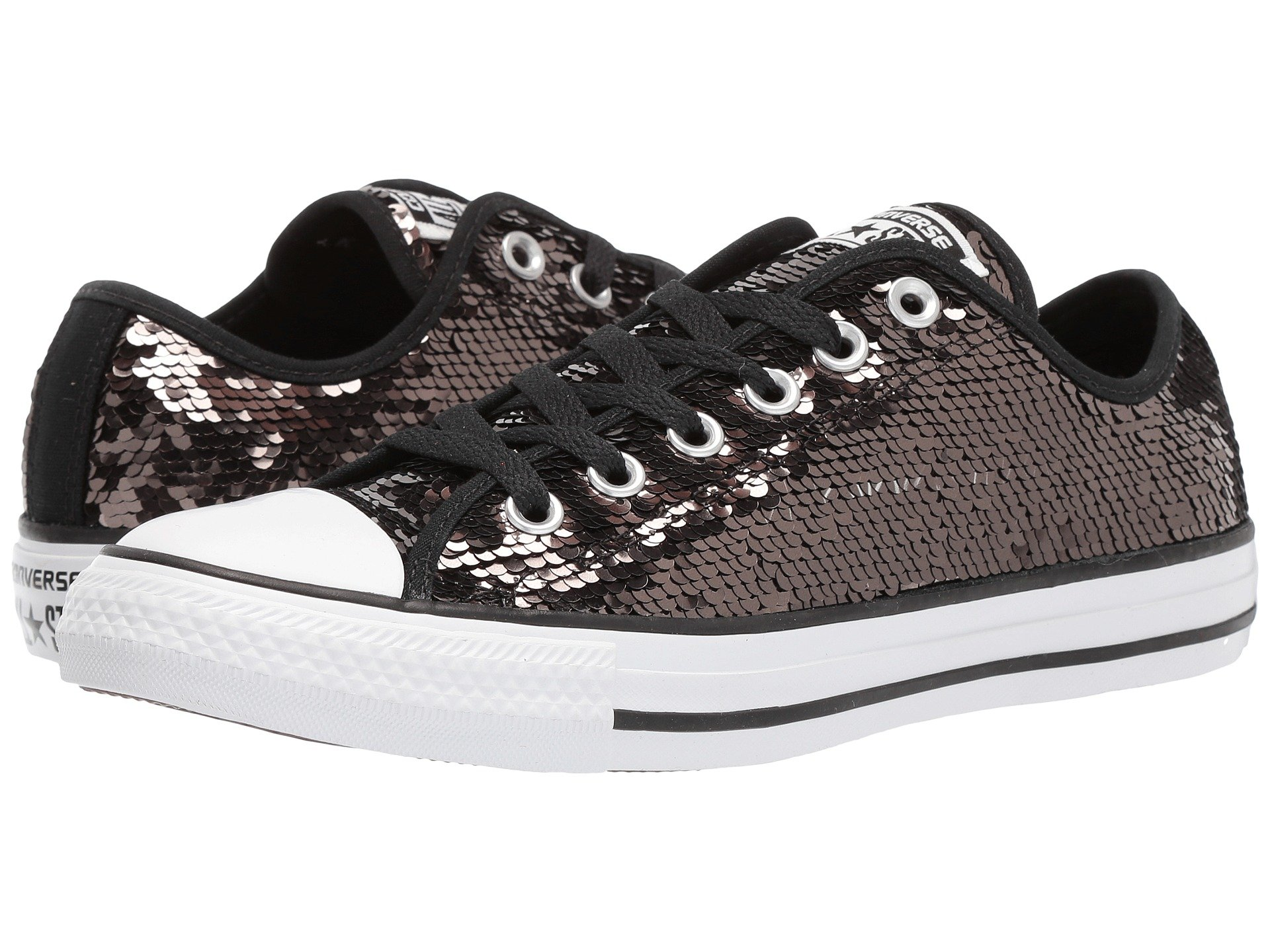 converse all star black. view more like this converse - chuck taylor® all star® sequins ox star black