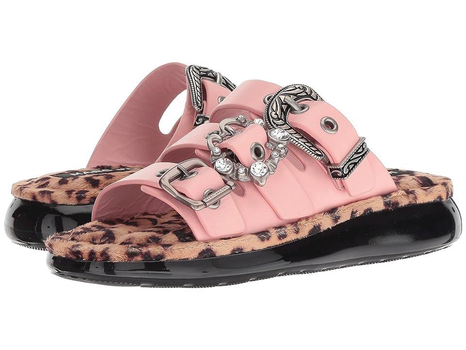Marc Jacobs Emerson Buckle Sport Sandal (Light Pink Multi) Women