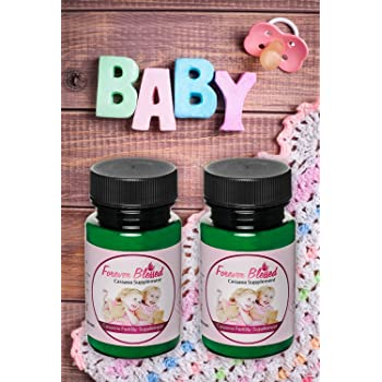 (2 Month Supply) Organic Cassava Root - Fertility Supplement for Twins - Certified Strongest Product on The Market (Vitamin for a Natural Pregnancy)