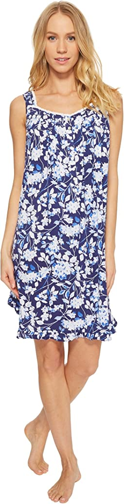 Eileen West Modal Floral Short Chemise