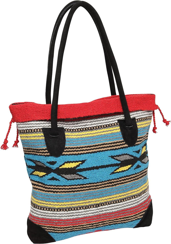 Getaway Bag Beach Bag Groceries Bag Mexican Bag Weekend Bag Handwoven Mexican Tote Travel Bag Picnic Bag Colorful Mexican Beach Bag