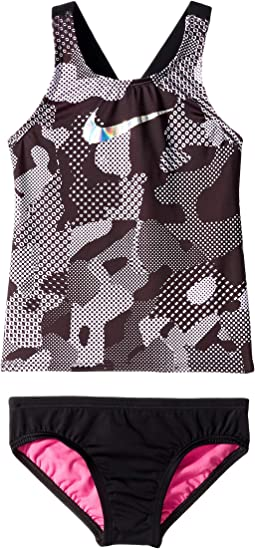 Optic Camo Cross-back Tankini (Little Kids/Big Kids)
