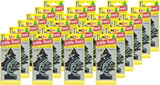 LITTLE TREES Car Air Freshener | Hanging Paper Tree for Home or Car | Blackberry Clove | Pack of 24