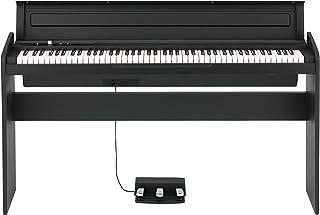 $599 Get Korg 88 Key Lifestyle Piano Black (LP180BK)