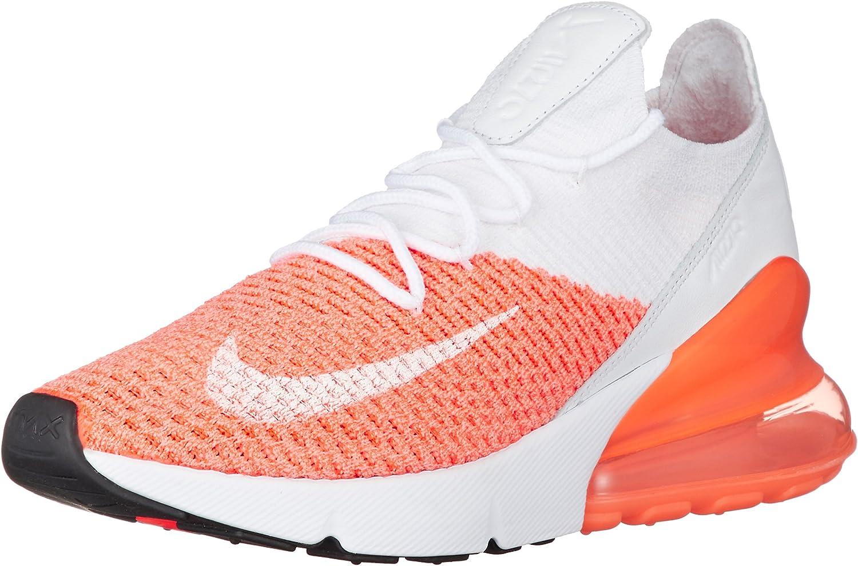 Nike W Air Max 270 Flyknit - Crimson Crimson Crimson Pulse Weiß-Crimson pu - Freizeit-Schuhe-Damen  186c40