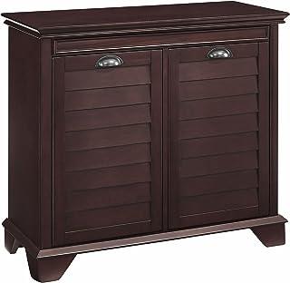 Crosley Furniture Linen Hamper, Espresso