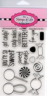 Candy Sentiment Stamps for Card-Making and Scrapbooking Supplies by The Stamps of Life - Candy2Share