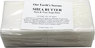 Sponsored Ad - Shea Butter - 2 Lbs Melt and Pour Soap Base - Our Earth's Secrets