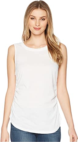 Shirred Tank Top