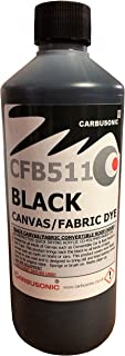 Tinte negro para capota de coche convertible, devuelve el color a los tejidos