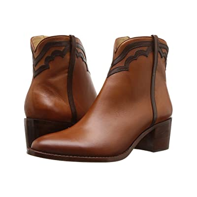 Lucchese Maya (Cognac/Chocolate) Cowboy Boots