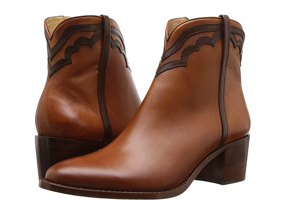 Lucchese Maya (Cognac/Chocolate) Cowboy Boots