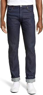 [ラングラー] メンズ デニムパンツ Wrangler Icons Slim Fit Jeans (New Blue) [並行輸入品]