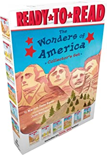 The Wonders of America Collector's Set: The Grand Canyon; Niagara Falls; The Rocky Mountains; Mount Rushmore; The Statue o...