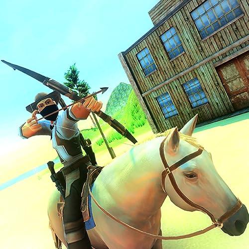 Wild Horse Riding West Archery Warrior