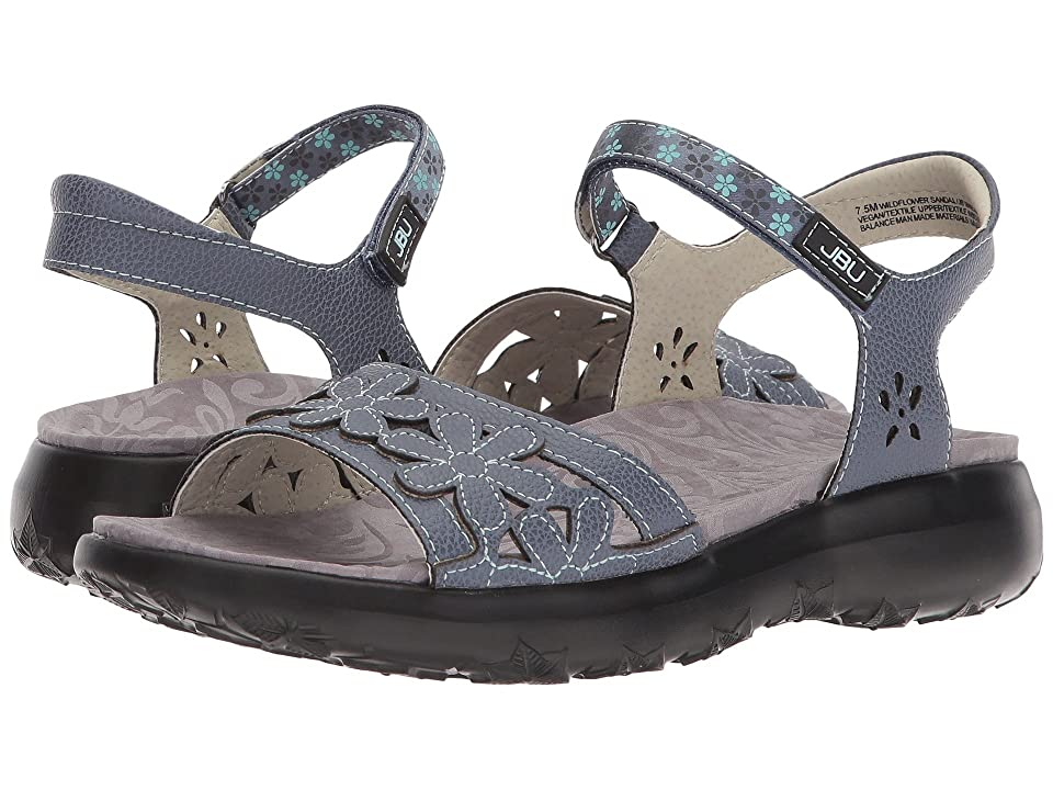 JBU Wildflower Sandal (Denim Blue) Women