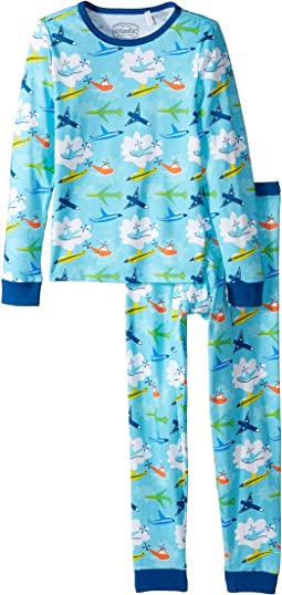 Trimfit Organic Cotton Dreamwear Pajama Set (Little Kids/Big Kids)