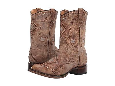 Roper Aiyana (Waxy Tan) Cowboy Boots