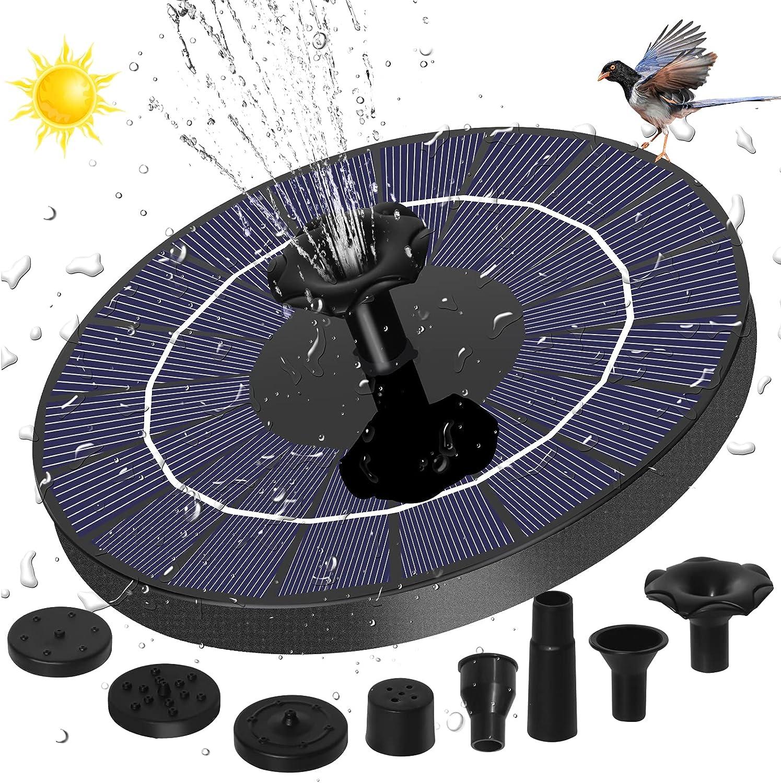 HuiSiFang Solar SALENEW very popular! Fountain Pump Low price 3.5W Fountains with Bath Bird 150