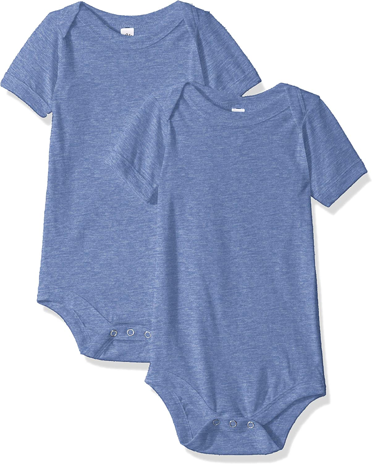 Marky G Apparel unisex-baby Triblend Short-sleeve One-piece - 2 Pack