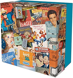 Gibsons Spirit of The 50s Gift Box Puzzle, 500 Piece