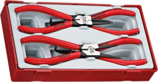 Teng Tools 4 Piece 7 Inch Snap Ring Circlip Plier Set - TT474-7