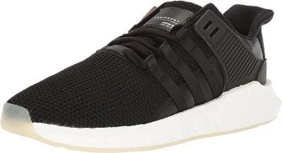 adidas Originals Men's EQT Support 93/17 Running Shoe, core Black/White, 11 M US