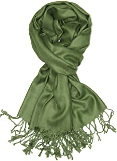 Best olive green pashmina scarf Reviews