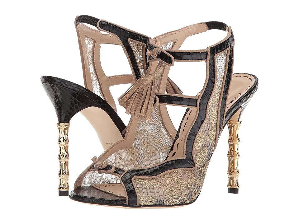 Marchesa Addilyn (Black/Gold) Women