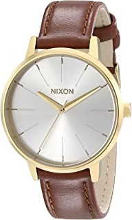 Women's Kensington Stainless Steel Watch with Leather Band