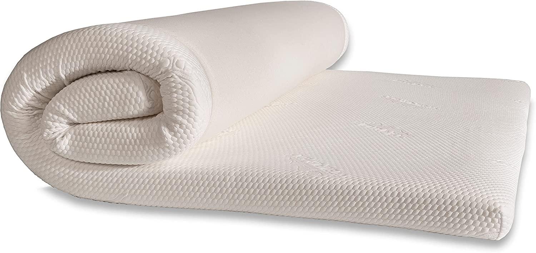 Amazon Com Tempur Pedic Tempur Supreme 3 Inch Mattress Topper Medium Firm Queen White Home Kitchen
