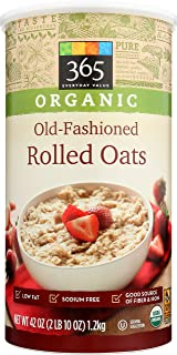 365 Everyday Value, Organic Old-Fashioned Rolled Oats, 42 oz