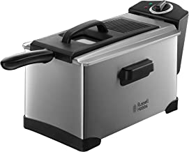 Russell Hobbs RHDF320, Cook Home Deep Fryer, 3.2L Capacity with Variable Temperature, Silver