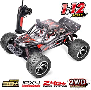 RC Cars 1/12 Off Road Remote Control Cars 2WD Rechargable Fast RC Car, HiStorm 26+ MPH 2.4GHz Waterproof All Terrain Remote Controllled Cars for Kids Adults Boys Girls|Best Gift for Kids and Adults