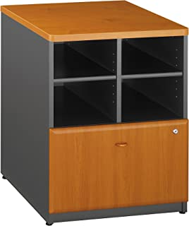 Bush Business Furniture Series A Collection 24W Piler Filer in Natural Cherry